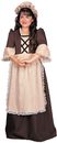 Rubie's RU-882625MD Colonial Girl Child Medium