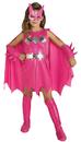 Rubie's RU-882754MD Pink Batgirl Child Costume Md