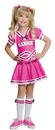 Rubie's RU-886749MD Barbie Cheerleader Child Mediu