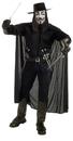 Rubie's RU-888238 V For Vendetta Costume Std