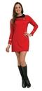 Rubie's RU-889061XS Star Trek Classic Red Dress Xs