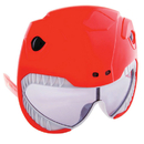 Morris Costumes SG-2341 Sunstache Power Ranger Red