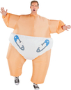 Morris Costumes SS-55110G Inflat Costume-Big Baby Adult