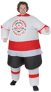 Morris Costumes SS-59283G Inflatable Hockey Player Adult