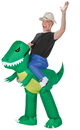 Morris Costumes SS-59286G Inflate Dinosaur Rider Adult