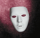 Morris Costumes TF-111601 Blank Male Mask