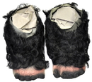 Morris Costumes TH-33 Gorilla Feet With Hair