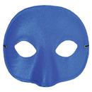 Morris Costumes TI-01BU Half Mask Satin Royal Blue