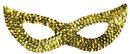 Morris Costumes TI-16GD Cat Mask Sequin Gold