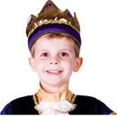 Dress Up America UP-698 Crown Child Purple