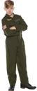 Underwraps UR-25722MD Flight Suit Child Khaki Med 6-