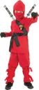 Underwraps UR-25846SM Ninja -Child Red Small