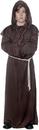 Underwraps UR-25876LG Monk Robe Child Brown Large