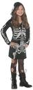 Underwraps UR-25890MD Bones Dress Child 6-8