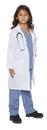 Underwraps UR-25905SM Doctor Scrubs W Lab Coat Ch Sm