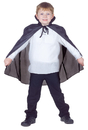 Underwraps UR-25927 Cape Taffeta Child Black