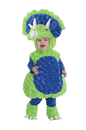 Underwraps UR-26111TLG Triceratops Green Toddler 2-4