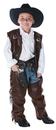 Underwraps 26160MD Cowboy Chaps Vest Child Medium