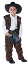 Underwraps UR-26160SM Cowboy Chaps Vest Child Small