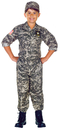 Underwraps UR-26200LG U.S. Army Camo Set Child 10-12