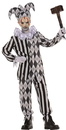 Underwraps UR-26272LG Evil Harlequin No Mask Child L