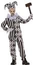 Underwraps UR-26272MD Evil Harlequin No Mask Child M