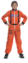 Underwraps 26981LG Astronaut Orange Child 10-12