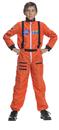 Underwraps 26981MD Astronaut Orange Child 6-8
