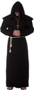Underwraps UR-28003BKXXL Monk Robe Adult Black Xxl