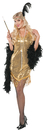 Underwraps UR-28037MD Swingin Gold Adult Medium