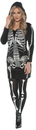 Underwraps UR-28194XL Skeletal Hoodie Dress Adult Xl