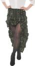 Underwraps UR-28245XL Steam Punk Skirt Ad Green Xl