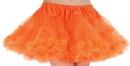 Underwraps UR-28382 Petticoat Tutu Adlt Neon Orang