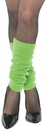 Underwraps UR-28458OS Leg Warmers Adult Neon Green