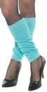 Underwraps UR-28459OS Leg Warmers Adult Neon Blue