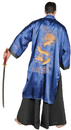 Underwraps UR-28655 Samurai Blue Adult One Size