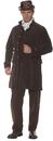 Underwraps UR-28831XXL Frock Coat Adult Brown Xxl