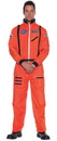 Underwraps UR-29137XXL Astronaut Mens Orange Xxlarge