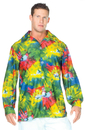 Underwraps UR-29434 60S Tie Dye Shirt Adult One Sz