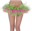 Underwraps UR-29473 Tutu Green And Pink