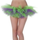 Underwraps UR-29474 Tutu Green And Purple