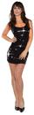 Underwraps UR-29570MD Sequin Dress Short Black Ad Md