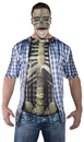 Underwraps UR-29604 Photo Real Shirt Skeleton Adul