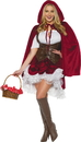 Underwraps UR-29923LG Deluxe Red Riding Hood Adult L