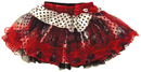 Morris Costumes XS-12478 Mh Petticoat Red Blk Dots Whit