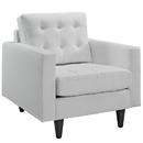 Modway Furniture EEI-1012 Empress Leather Armchair