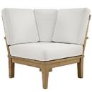 Modway Furniture EEI-1146 Marina Outdoor Patio Teak Corner Sofa