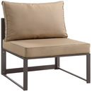 Modway Furniture EEI-1520 Fortuna Armless Outdoor Patio Sofa