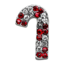 Mirage Pet Products 10-27 38CCN Holiday 10mm Slider Charms Red Candy Cane