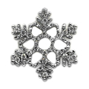 Mirage Pet Products 10-27 38SNO Holiday 10mm Slider Charms Snowflake